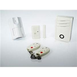 3 Zones Wireless AC Simple Alarm System