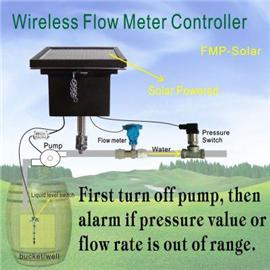 Wireless Flow meter controller